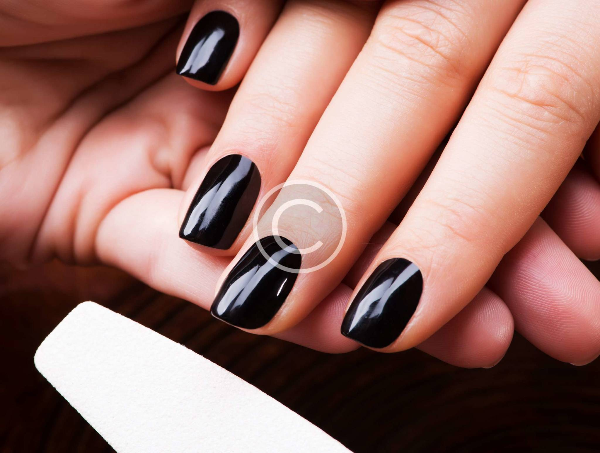 how to fix false nails at home